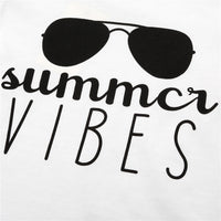 Summer Vibes T-Shirt - Ribbon and Blues