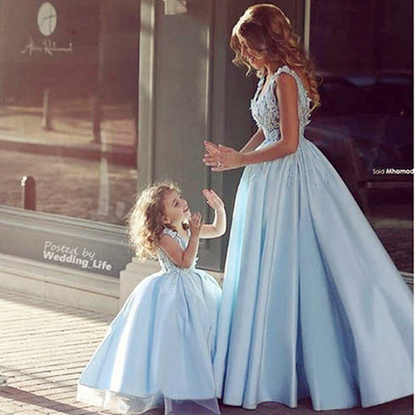 Ballgown Dress for Mother and Daughter