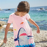 Shark Playful Dress - Ribbon and Blues