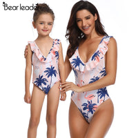 Vacation Mode Mother Daughter Swimwear - Ribbon and Blues