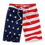 Red White and Blue Flag Swim Wear - Ribbon and Blues