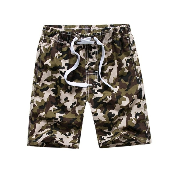 Brown Camo Swimwear for Boys - Ribbon and Blues