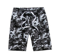 Black and Gray Camo Fun Swim Wear - Ribbon and Blues