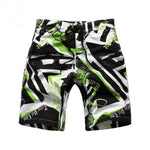 Green and Black and White Fun Swim Wear - Ribbon and Blues