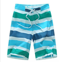 Blue White Stripe Swimwear - Ribbon and Blues