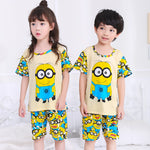 Minion Short Sleeve Pajamas