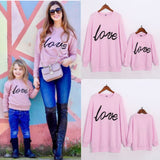 Matching Love Sweatshirts