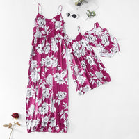 Flowers Mother and Daughter Dresses