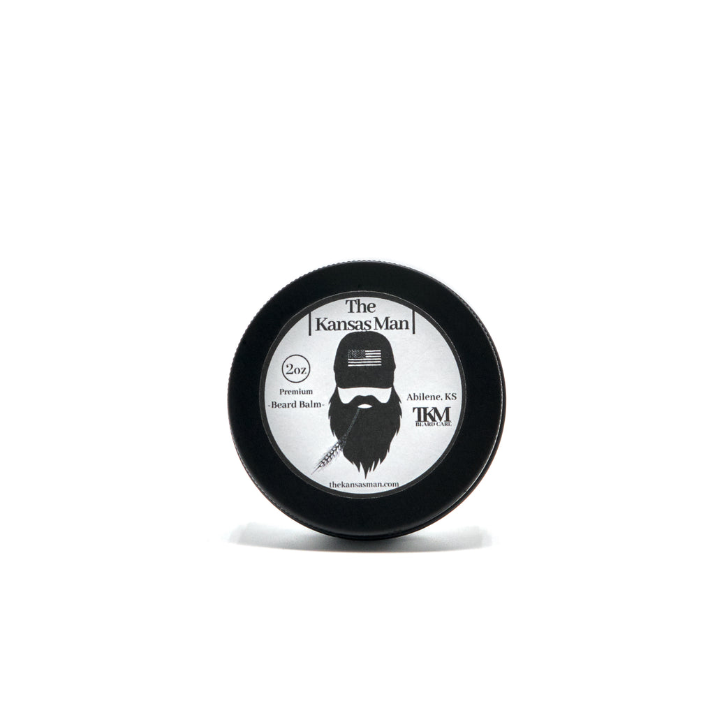 The Kansas Man Beard Balm 2oz