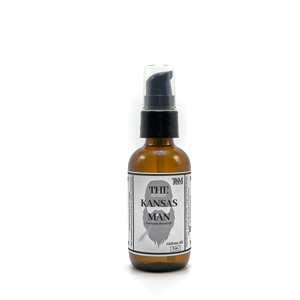 The Kansas Man Original Beard Oil 2oz