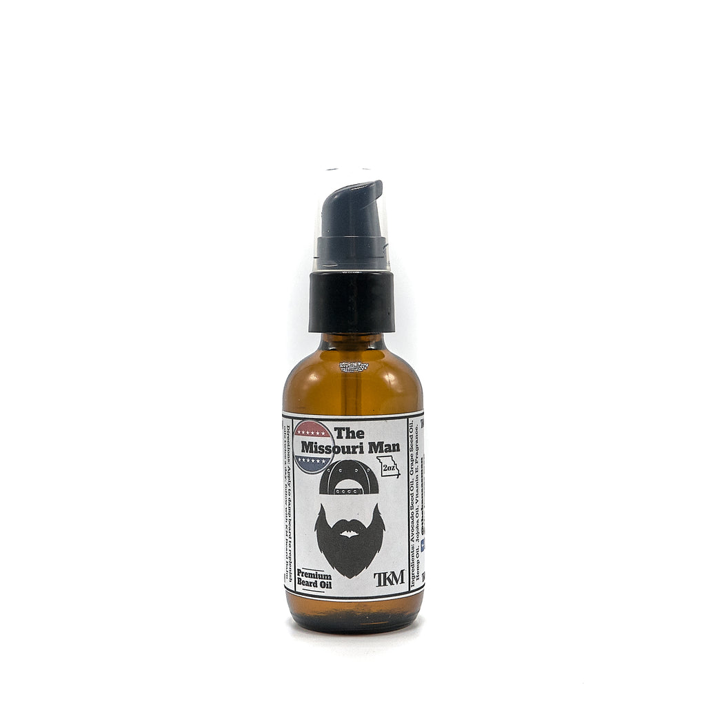 The Missouri Man Beard Oil 2 oz.