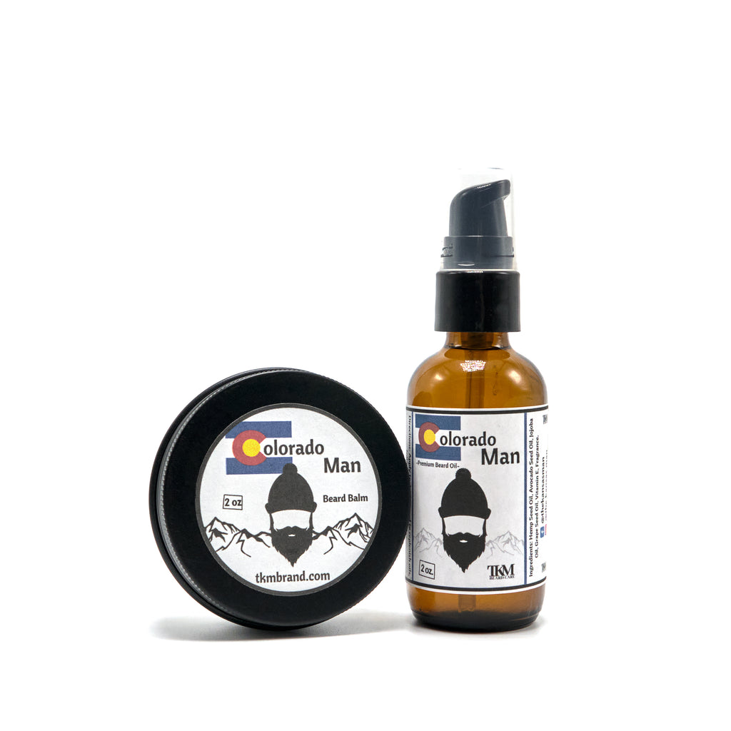 Colorado Man Beard Oil and Balm Set