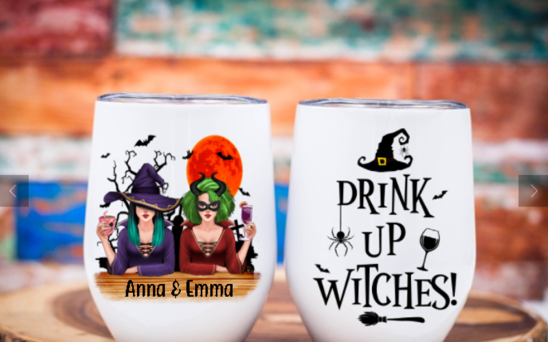 Drink Up Witches Tumbler