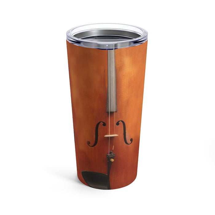 Personalized Tumbler, Custom Name Violin