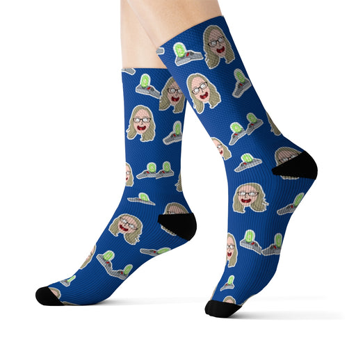 Custom Cartoon Personalized Face Socks