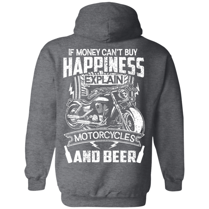 Happiness Biker Motorcycle Shirt