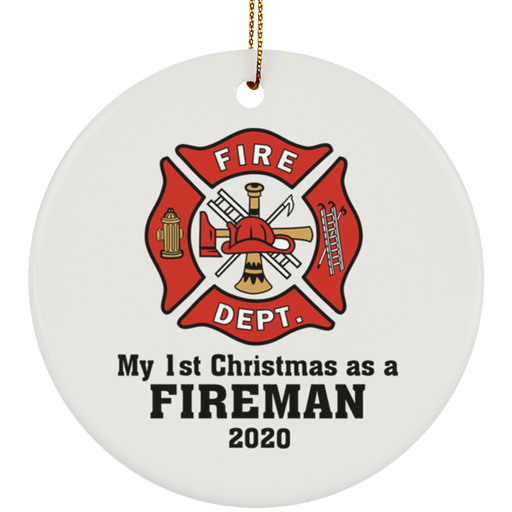 Fireman Firefighter Ornament