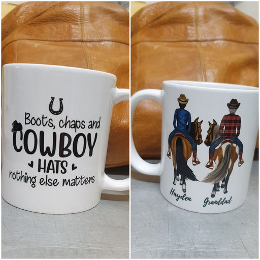 Personalized Mug, Horseback Riding Partners, Gift For Friends, Horse Lovers