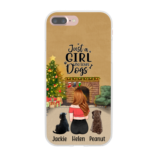Personalized Phone Case - Dog Mother Christmas Gift For Dog Lovers