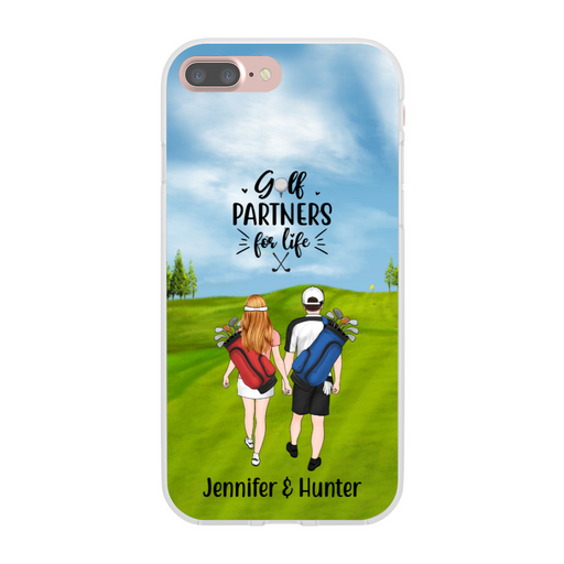 Personalized Phone Case, Golf Couple and Friends Custom Gift for Golf Lovers