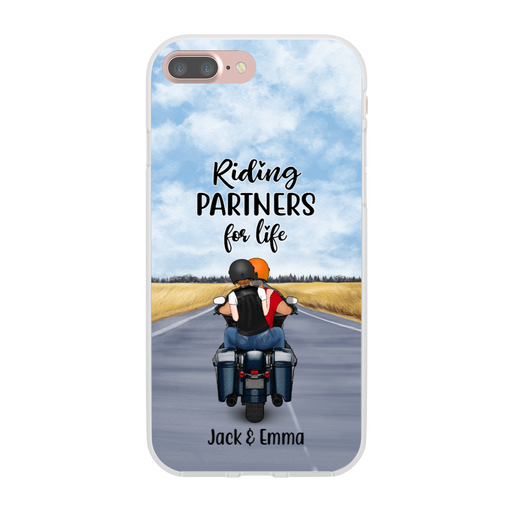 Custom Horse Riding iPhone Case Personalized Gift For Horses Lover