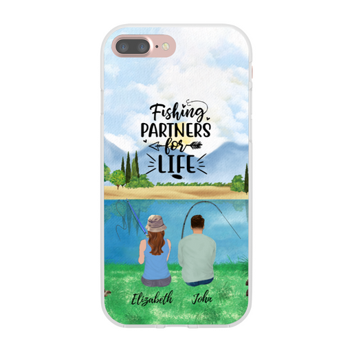 Custom Fishing Phone Case Personalized Gift for Fishing Couples
