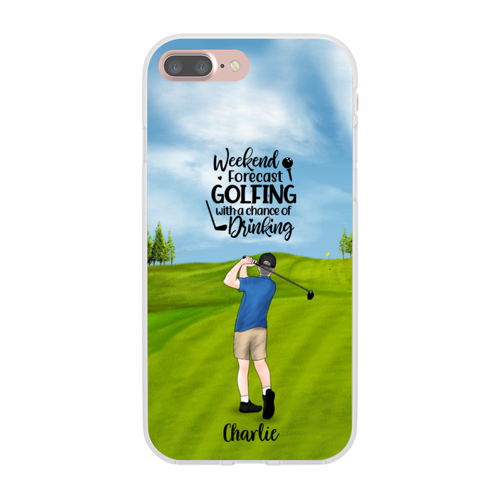 Personalized Phone Case - Custom Gift for Golf Lovers