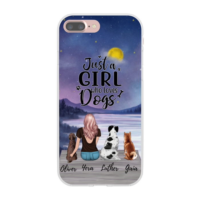 Custom Dog Mother Phone Case Personalized Gift for Dog Lovers