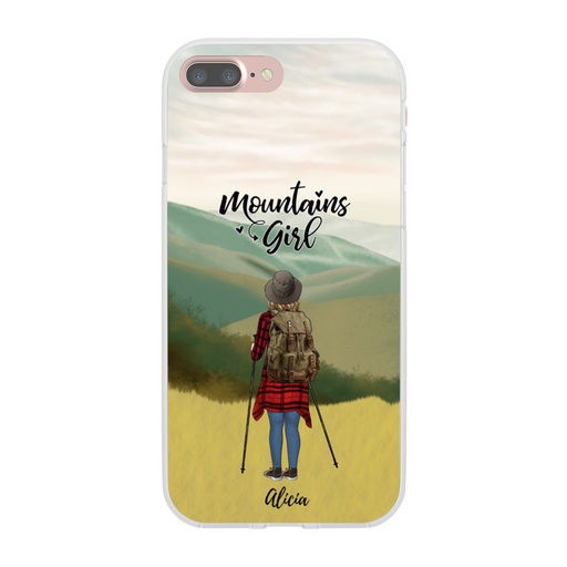 Custom Hiking Man/Woman Phone Case Personalized Gift for Hiking Lovers