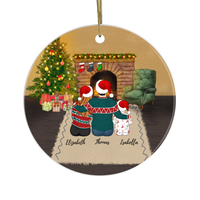 Personalized Ornament - Christmas Parent And Kids Gift For Noel