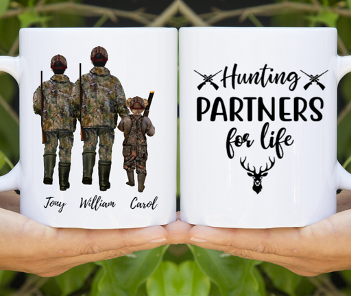 Hunting Partners Father Customize mug