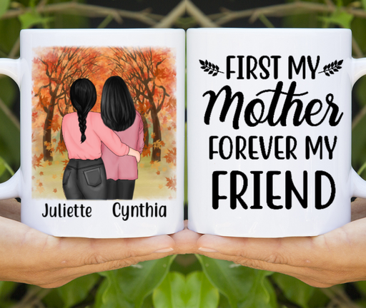Personalized Mug - Mother and Daughter Custom Gift For Mother's Day