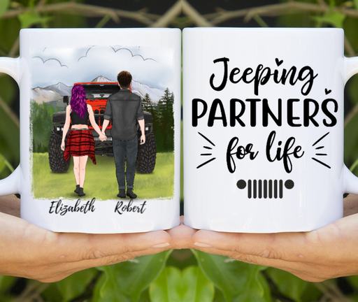 Custom Couple Holding Hands Personalized Gift For Car Lovers