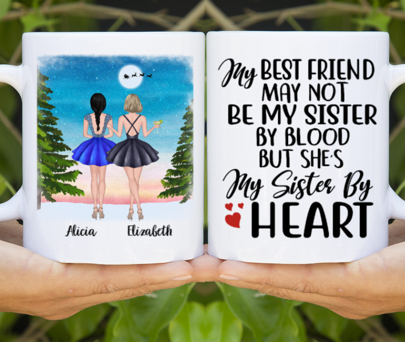 Personalized Mug, Party Sisters Gift For Christmas Besties