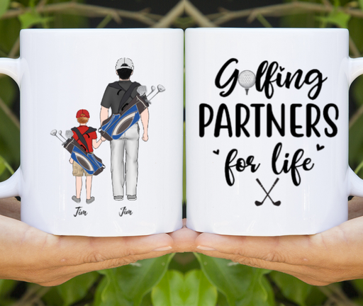 Personalized Mug - Custom Golf Family
