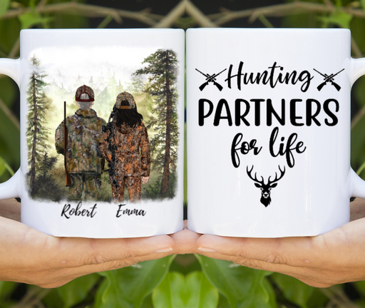 Custom Hunting Partners Personalized Gift For Hunting Lovers