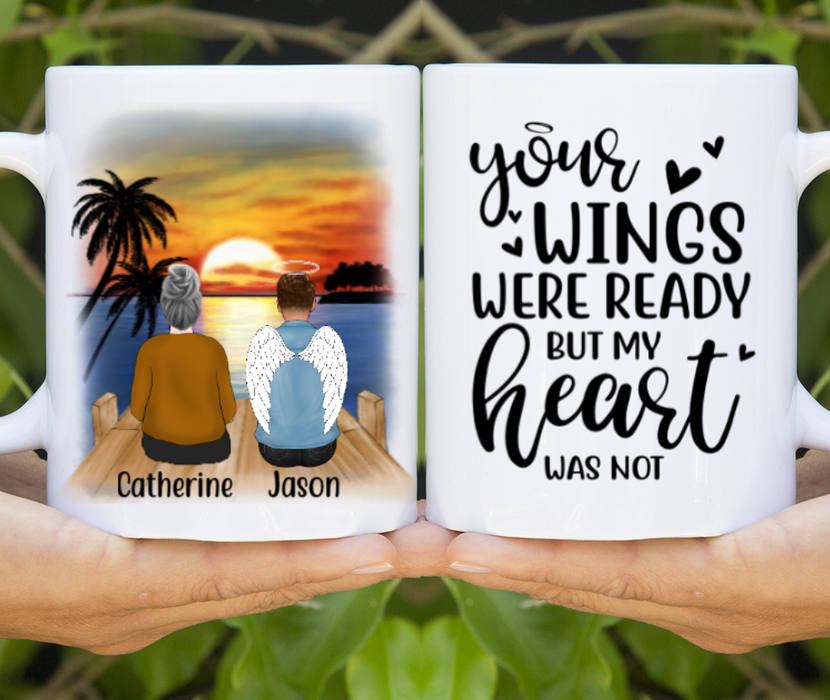 Personalized Mug, Memorial Son Custom Gifts for Mother