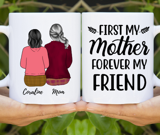 Mother And Daughters Mother's Day Customize Mugs