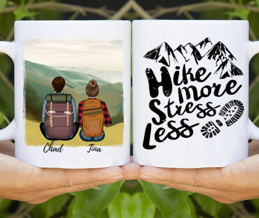 Custom Hiking Partners Personalized Mug Gift For Trekking Lovers