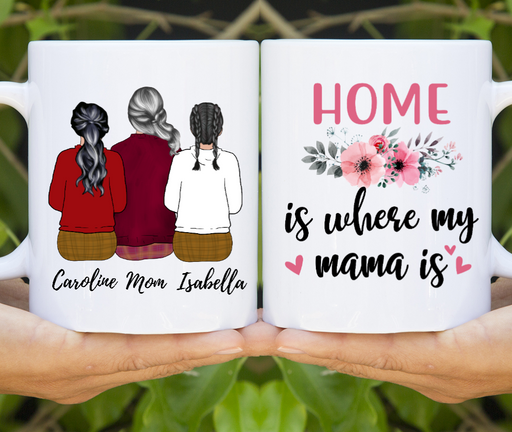 Personalized Mug - Mother And Daughters