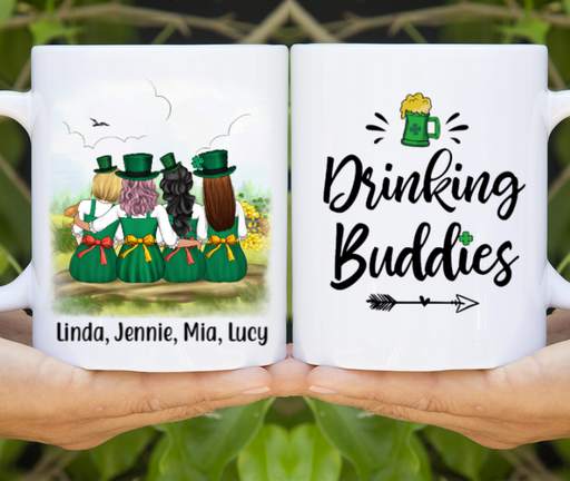 Personalized Mug - St Patrick's Day Sisters Custom Gift For Sisters And Friends