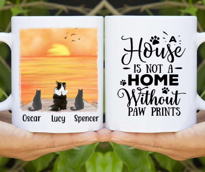 Personalized Mug, Mix Dogs And Cats Gift For Dog And Cat Lovers