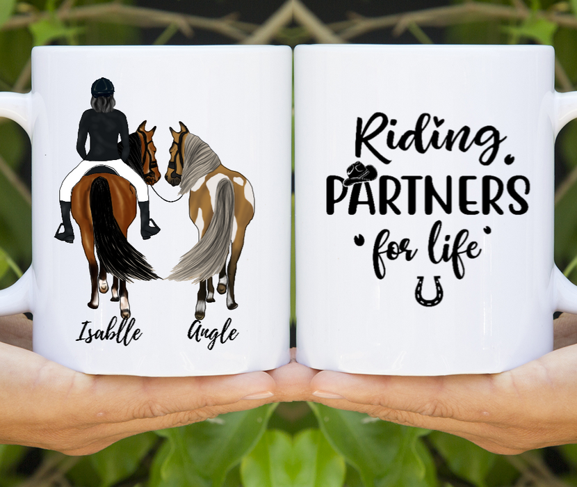 Personalized Mug - Just A Girl Who Loves Horses
