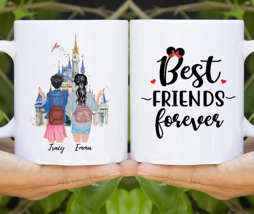 Best Friends Forever Customized Mug Personalized gift for your Sister