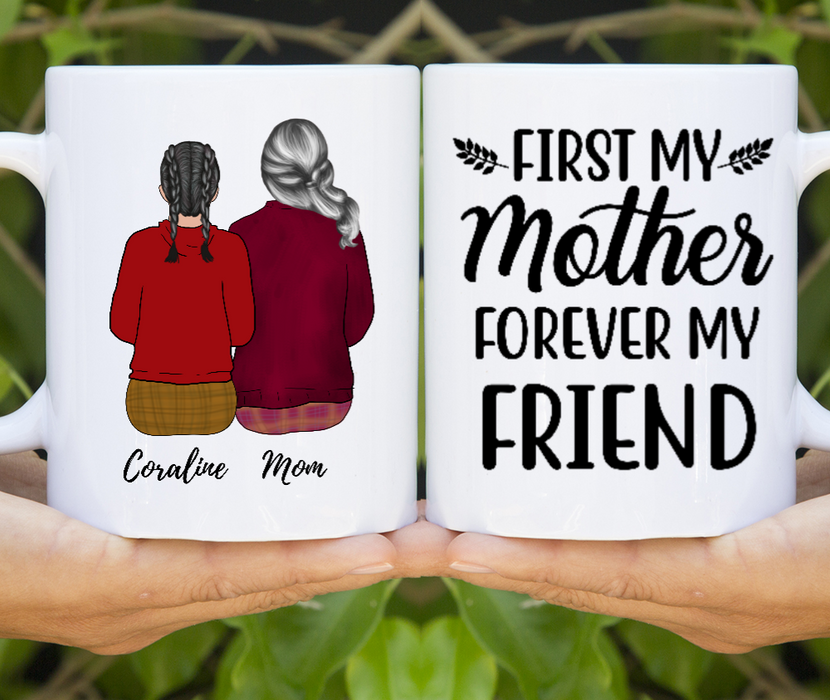 Personalized Gift Mug Custom Mother and Daughter Gift For Mom