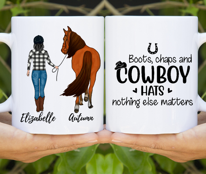 Personalized Mug Custom Gift for Horse Lovers