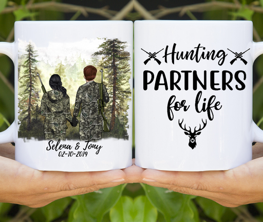 Hunting Partners Customize mug