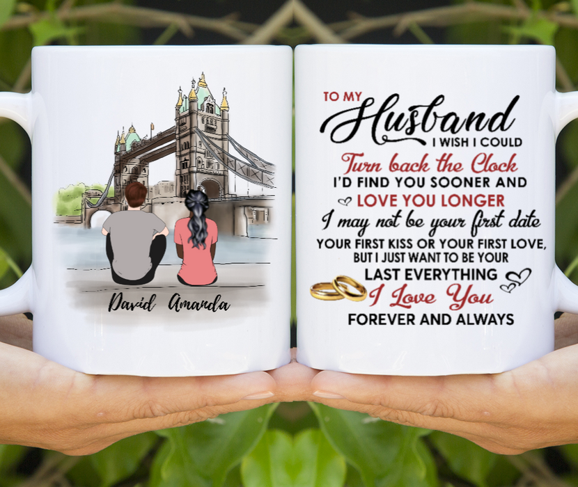 Personalized Mug - To My Husband - Tower Bridge
