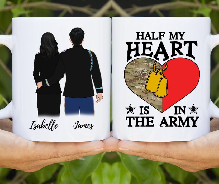 Custom Mug Personalized Gift for Military Branches