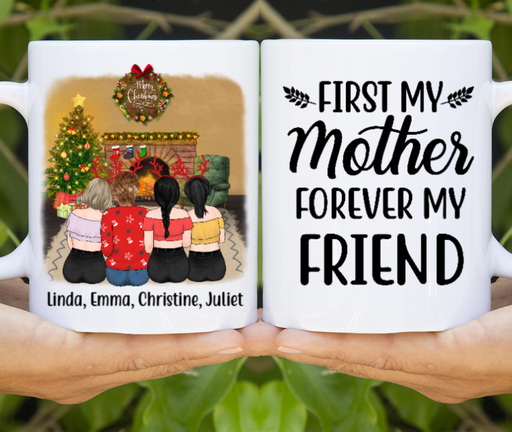 Personalized Mug, Mother And Daughters Gifts For Christmas